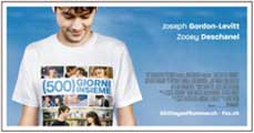500 Days of Summer - 27 x 40 Movie Poster - Swiss Style D