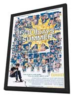 500 Days of Summer - 11 x 17 Movie Poster - Style A - in Deluxe Wood Frame
