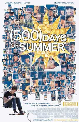 500 Days of Summer - 27 x 40 Movie Poster - Style A