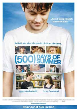 500 Days of Summer - 11 x 17 Movie Poster - German Style A