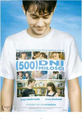 500 Days of Summer - 11 x 17 Movie Poster - Polish Style A