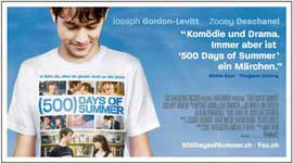 500 Days of Summer - 11 x 17 Movie Poster - Swiss Style C