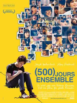 500 Days of Summer - 27 x 40 Movie Poster - French Style A