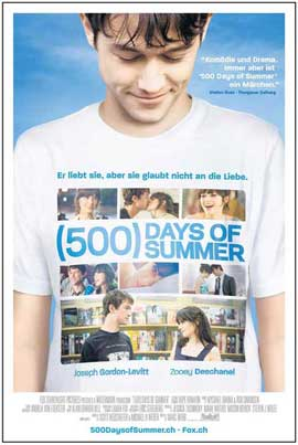 500 Days of Summer - 27 x 40 Movie Poster - Swiss Style E