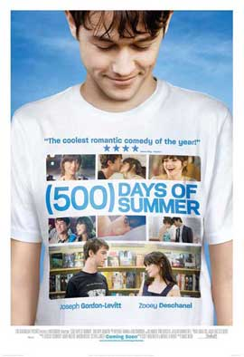 500 Days of Summer - 27 x 40 Movie Poster - UK Style A