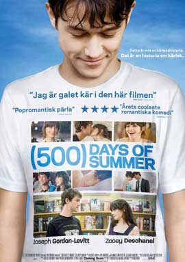 500 Days of Summer - 11 x 17 Movie Poster - Swedish Style A