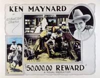 $50,000 Reward - 11 x 14 Movie Poster - Style A