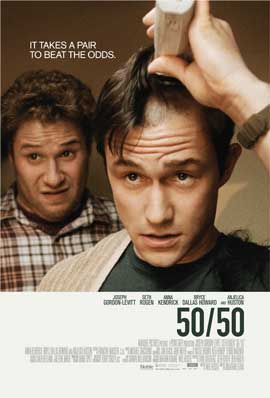50/50 - 43 x 62 Movie Poster - Swedish Style A