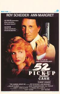 52 Pick-Up - 11 x 17 Movie Poster - Belgian Style A