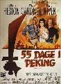 55 Days at Peking - 11 x 17 Movie Poster - Danish Style A