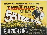 55 Days at Peking - 30 x 40 Movie Poster UK - Style A