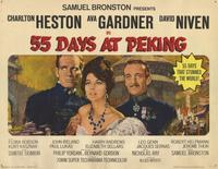 55 Days at Peking - 11 x 14 Movie Poster - Style C