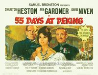 55 Days at Peking - 11 x 14 Movie Poster - Style B