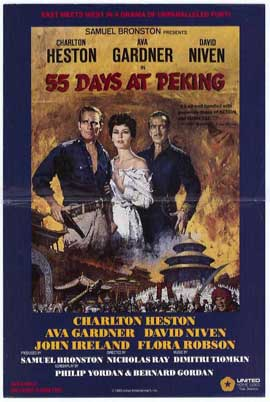 55 Days at Peking - 27 x 40 Movie Poster - Style B