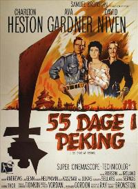 55 Days at Peking - 27 x 40 Movie Poster - Danish Style A