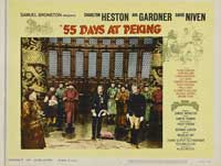 55 Days at Peking - 22 x 28 Movie Poster - Half Sheet Style B