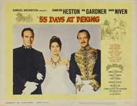 55 Days at Peking - 11 x 14 Movie Poster - Style F