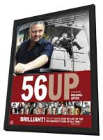 56 UP - 11 x 17 Movie Poster - Style A - in Deluxe Wood Frame