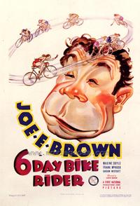 6 Day Bike Rider - 43 x 62 Movie Poster - Bus Shelter Style A