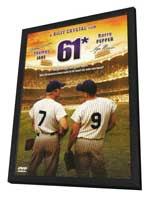 61* - 11 x 17 Movie Poster - Style A - in Deluxe Wood Frame