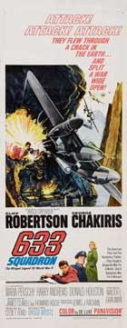 633 Squadron - 14 x 36 Movie Poster - Insert Style A