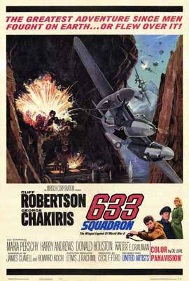 633 Squadron - 27 x 40 Movie Poster - Style A