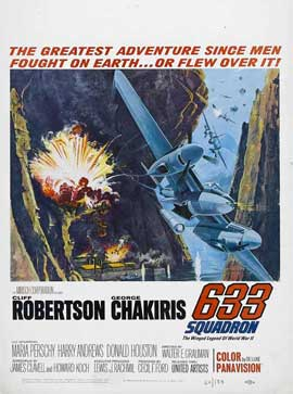 633 Squadron - 11 x 17 Movie Poster - Style B
