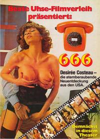 666 - 27 x 40 Movie Poster - German Style A