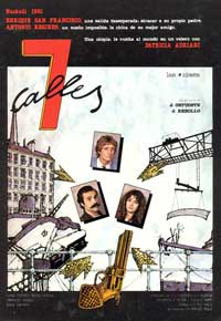 7 calles - 11 x 17 Movie Poster - Spanish Style A