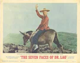 7 Faces of Dr. Lao - 11 x 14 Movie Poster - Style D