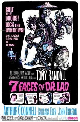7 Faces of Dr. Lao - 11 x 17 Movie Poster - Style A