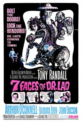 7 Faces of Dr. Lao - 27 x 40 Movie Poster - Style A