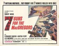 7 Guns for the MacGregors - 11 x 14 Movie Poster - Style A