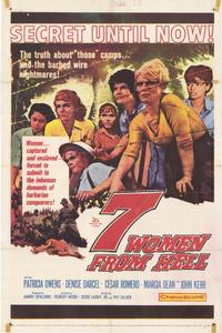 7 Women From Hell - 27 x 40 Movie Poster - Style A