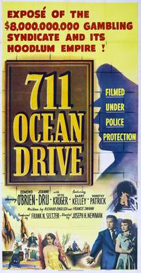711 Ocean Drive - 27 x 40 Movie Poster - Style A
