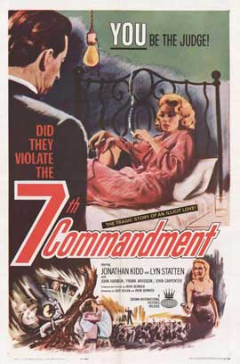 The 7th Commandment - 11 x 17 Movie Poster - Style A