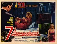 The 7th Commandment - 22 x 28 Movie Poster - Half Sheet Style A