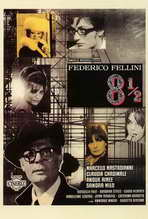 8 1/2 - 27 x 40 Movie Poster - Italian Style A
