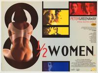 8 1/2 Women - 11 x 17 Movie Poster - Style D
