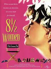 8 1/2 Women - 11 x 17 Movie Poster - Style B