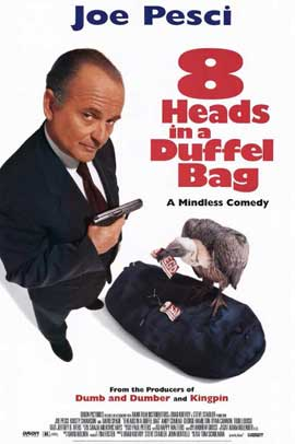 8 Heads in a Duffel Bag - 11 x 17 Movie Poster - Style A