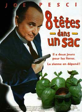 8 Heads in a Duffel Bag - 11 x 17 Movie Poster - French Style A