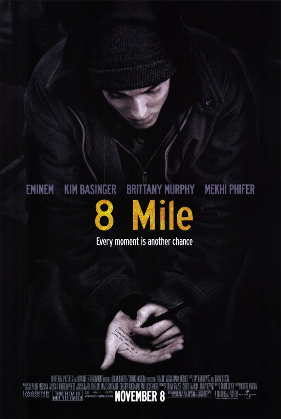 8 Mile Movie Posters From Movie - 68.9KB