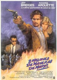8 Million Ways to Die - 11 x 17 Movie Poster - Spanish Style A