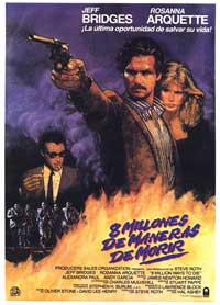 8 Million Ways to Die - 43 x 62 Movie Poster - Spanish Style A