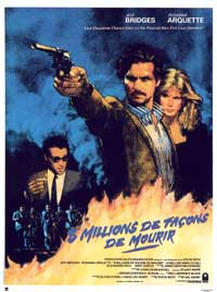 8 Million Ways to Die - 11 x 17 Movie Poster - French Style A
