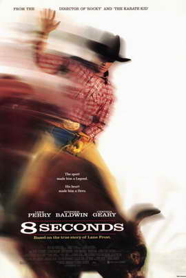 8 Seconds - 11 x 17 Movie Poster - Style B