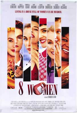 8 Women - 27 x 40 Movie Poster - Style A