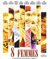 8 Women - 27 x 40 Movie Poster - French Style A