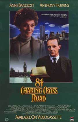 84 Charing Cross Road - 11 x 17 Movie Poster - Style B